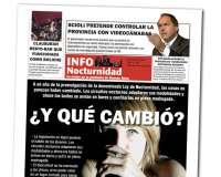 Diseño de periodico Info Nocturnidad