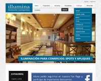 Diseño web de Illumina