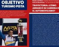 Brochure del piloto Hernán Scalvazio