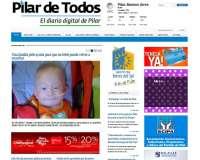 Diseño web del diario digital Pilar de Todos