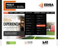 Diseño web para PB Real Estate
