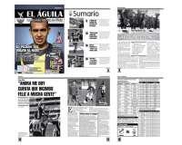 Diseño revista El Aguila - Club Fénix